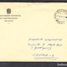 Sellos: SIN SELLO DE FRANQUEO Y FECHADOR ETIQUETAS VERDES MADRID. Lote 288964988