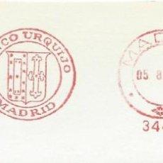 Sellos: 1977. MADRID. FRANQUEO MECÁNICO. FRAGMENTO. BANCO URQUIJO. MÁQUINA 3441.. Lote 289537018