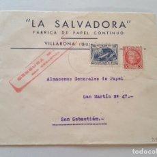 Sellos: CARTA ESPAÑOLA. Lote 289608218