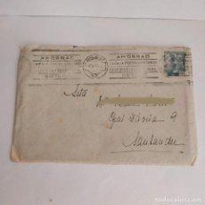 Sellos: SOBRE MATASELLOS BILBAO CIRCULADO A SANTANDER (SELLO CARTERIA) 1948. Lote 289858048
