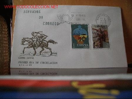 SPD SERIE SERVICIOS DE CORREOS EN 2 SOBRES. EDEFIL 2329-32 (Sellos - Historia Postal - Sello Español - Sobres Primer Día y Matasellos Especiales)