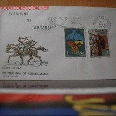 Sellos: SPD SERIE SERVICIOS DE CORREOS EN 2 SOBRES. EDEFIL 2329-32. Lote 603990