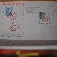 Sellos: SPD DIA MUNDIAL DEL SELLO 1976. Lote 604049