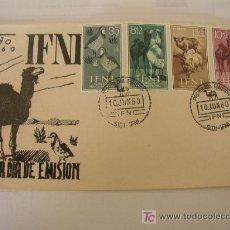 Sellos: PRIMER DIA DE EMISIÓN IFNI- 1960- . Lote 24398443