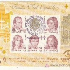 Sellos: 1984 EXPOSICION MUNDIAL DE FILATELIA MADRID. Lote 27570707