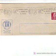 Sellos: CAMPAÑA CONTRA EL HAMBRE EN EL MUNDO, MADRID 1975. MATASELLOS RODILLO EN SOBRE CLUB ALHAMBRA. GMPM. Lote 4116574