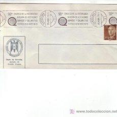 Sellos: QUIMICA QUIMICOS Y COLORISTAS TEXTILES X CONGRESO, BARCELONA 1975 RARO MATASELLOS RODILLO SOBRE GMPM. Lote 4116587
