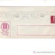 Sellos: MUTUALIDAD PREVISION SOCIAL AYUDA A SUBNORMALES MADRID 1975 MATASELLOS RODILLO SOBRE C ALHAMBRA GMPM. Lote 4122297