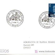 Sellos: ESPAÑA 1979.- MATASELLO ESPECIAL.- EXPOSICION DE LOTERIA Y FILATELICA UNFIVA. BILBAO, VIZCAYA. Lote 4709661