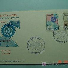 Sellos: 8583 TURQUIA TURKEY FDC SOBRE PRIMER DIA DE EMISION AÑO 1967 - MAS DE ESTE TIPO EN COSAS&CURIOSAS. Lote 4875607