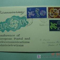 Sellos: 9396 GRAN BRETAÑA UK 1961 TEMA EUROPA FDC SPD SOBRE PRIMER DIA EMISION MAS EN COSAS&CURIOSAS. Lote 5411324