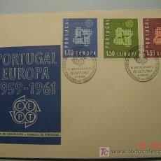 Sellos: 9398 PORTUGAL 1961 TEMA EUROPA FDC SPD SOBRE PRIMER DIA EMISION MAS EN COSAS&CURIOSAS. Lote 5411329