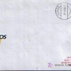Sellos: MATASELLO DE RODILLO EN SOBRE DE CORREOS DE LOS PREMIOS PRINCIPE DE ASTURIAS , OVIEDO 2007. Lote 6290097