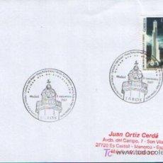 Sellos: MATASELLO PRIMER DIA DE CIRCULACIÓN TEMATICA FAROS DE TENERIFE ( MADRID ) 2007. Lote 179147443