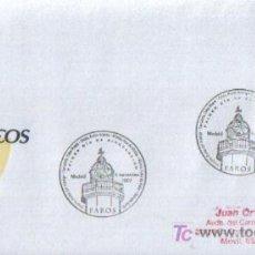 Sellos: MATASELLO PRIMER DIA DE CIRCULACIÓN TEMATICA FAROS DE TENERIFE ( MADRID ) 2007 . Lote 13633779