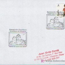 Sellos: MATASELLADO ESPECIAL EXPOSICION FILATELICA CASTILLO DE VILLENA ,10 DE SEPTIEMBRE DE 2007. Lote 6876881
