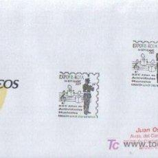 Sellos: MATASELLADO ESPECIAL EXPOFIL - ROTA ,XXV AÑOS DE ACTIVIDADES MUSICALES FUNDACION ALCAIDE ZOILO 2007. Lote 6879608