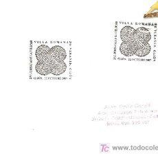 Sellos: MATASELLO ESPECIAL XVI JORNADAS FILATELICAS VILLA ROMANA DE DE VERANES, GIJON 2007 . Lote 8026678