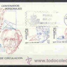 Briefmarken - SPD - CENTENARIOS PERSONAJES 1984 - 8157848