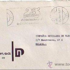 Sellos: ASOCIACION NACIONAL ENTIDADES DE FINANCIACION 25 ANIV, MADRID 1982. MATASELLOS RODILLO EN CARTA GMPM. Lote 8271639
