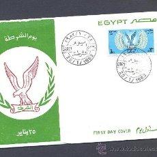 Sellos: EGIPTO - DIA NACIONAL DE LA POLICIA 1983. Lote 27420646