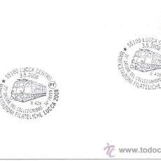 Sellos: ITALIA 2008.- MATASELLO ESPECIAL.- FERROCARRIL, LOCOMOTORAS, TRENES. Lote 9240153