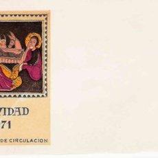 Sellos: SPD DÍA NAVIDAD 1971. Lote 18177706