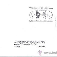 Sellos: ESPAÑA 2008. SOBRE PRIMER DIA. VALORES CIVICOS. DIVERSIDAD CULTURAL.. Lote 9854407
