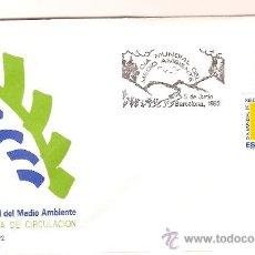 Sellos: S.F.C. A 820-2 DIA MUNDIAL DEL MEDIO AMBIENTE 1992. Lote 9950706