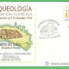 Sellos: 1996 SOBRE DE ARQUEOLOGÍA. Lote 11236518