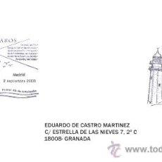 Sellos: ESPAÑA 2008. PRIMER DIA CIRCULACION. FAROS. FARO SILLEIRO. PONTEVEDRA. Lote 10722854