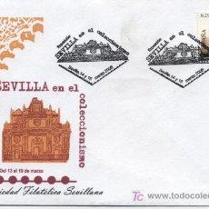 Sellos: SEVILLA EN EL COLECCIONISMO. MARZO 2006. SOCIEDAD FILATÉLICA SEVILLANA.. Lote 10973752