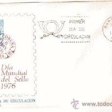 Sellos: S.F.C. A 453 DIA MUNDIAL DEL SELLO 1976 6 MAY 1976. Lote 11156013