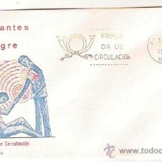 Sellos: S.F.C. A 463 PRIMER DIA DE CIRCULACION DONATES DE SANDRE 7 SEP 1976. Lote 11156054