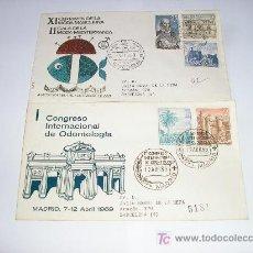 Sellos: SPD XI CERTAMEN MODA MASCULINA II GALA DE LA MODA MEDITERRANEA - CONGRESO INTERNACIONAL DE ONTOLOGIA. Lote 12586480