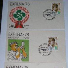 Sellos: SOBRES EXFILNA 78 BILBAO 24 JUNIO 1978. Lote 12765036