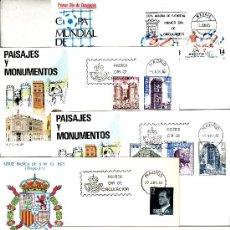 Sellos: OFERTA ESPAÑA LOTE DE 20 SOBRES PRIMER DIA AÑOS 1980 AL 1988. Lote 54207618
