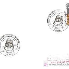 Timbres: MATASELLO PRIMER DIA DE CIRCULACION FAROS , FARO DE AHINAGA GRAN CANARIAS, MADRID 15 DE ABRIL 2009. Lote 179146846