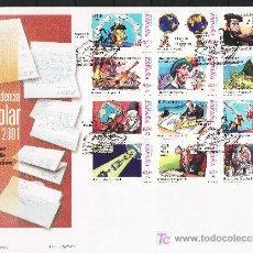 Sellos: ESPAÑA 3822/33 PRIMER DIA, CORRESPONDENCIA EPISTOLAR ESCOLAR, HISTORIA DE ESPAÑA. Lote 26967145