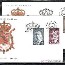 Sellos: ESPAÑA 3461/4 PRIMER DIA, BASICA, JUAN CARLOS I. Lote 21539291