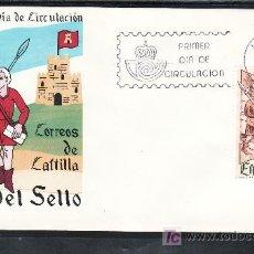 Sellos: ESPAÑA 2621 PRIMER DIA, DIA DEL SELLO, CORREOS DE CASTILLA. Lote 14745459