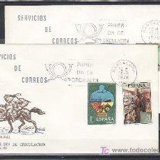 Sellos: ESPAÑA 2329/32 PRIMER DIA BARCELONA, SERVICIOS DE CORREOS, . Lote 14809141