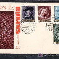 Sellos: ESPAÑA 1434/7 PRIMER DIA E.G. 620, PEDRO PABLO RUBENS,. Lote 20991472