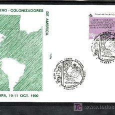 Sellos: 1990 ZAMORA 10-11/10 ALFIL, COLONIZADORES DE AMERICA, V CENTENARIO DESCUBRIMIENTO DE AMERICA. Lote 15109651
