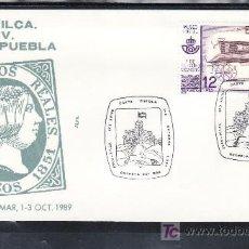 Sellos: 1989 OROPESA DEL MAR 1-3/10 ALFIL, EXPOSICION FILATELICA 400º ANIVERSARIO CARTA PUEBLA,. Lote 262489270
