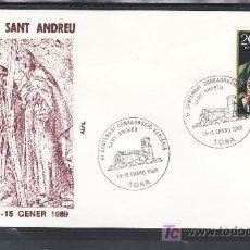 Sellos: 1989 TONA 13-15/1 ALFIL, XI CENTENARIO CONSAGRACION IGLESIA SAN ANDRES. Lote 21861876