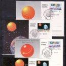 Sellos: 1987/1991 SEVILLA PRIMER DIA EXPO 92 TARJETA OFICIAL 1/18 COMPLETA EXPOSICION UNIVERSAL SEVILLA 1992. Lote 54555361