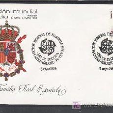 Sellos: 1984 MADRID 5/5 OFICIAL, ESPAÑA 84, EXP. MUNDIAL DE FILATELIA, DIA DE EUROPA. Lote 22054850