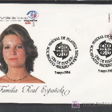 Sellos: 1984 MADRID 5/5 OFICIAL, ESPAÑA 84, EXP. MUNDIAL DE FILATELIA, DIA DE EUROPA. Lote 22054851