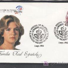 Sellos: 1984 MADRID 1/5 OFICIAL, ESPAÑA 84, EXP. MUNDIAL DE FILATELIA, DIA DE LAS ADMINISTRACIONES POSTALES. Lote 22146815